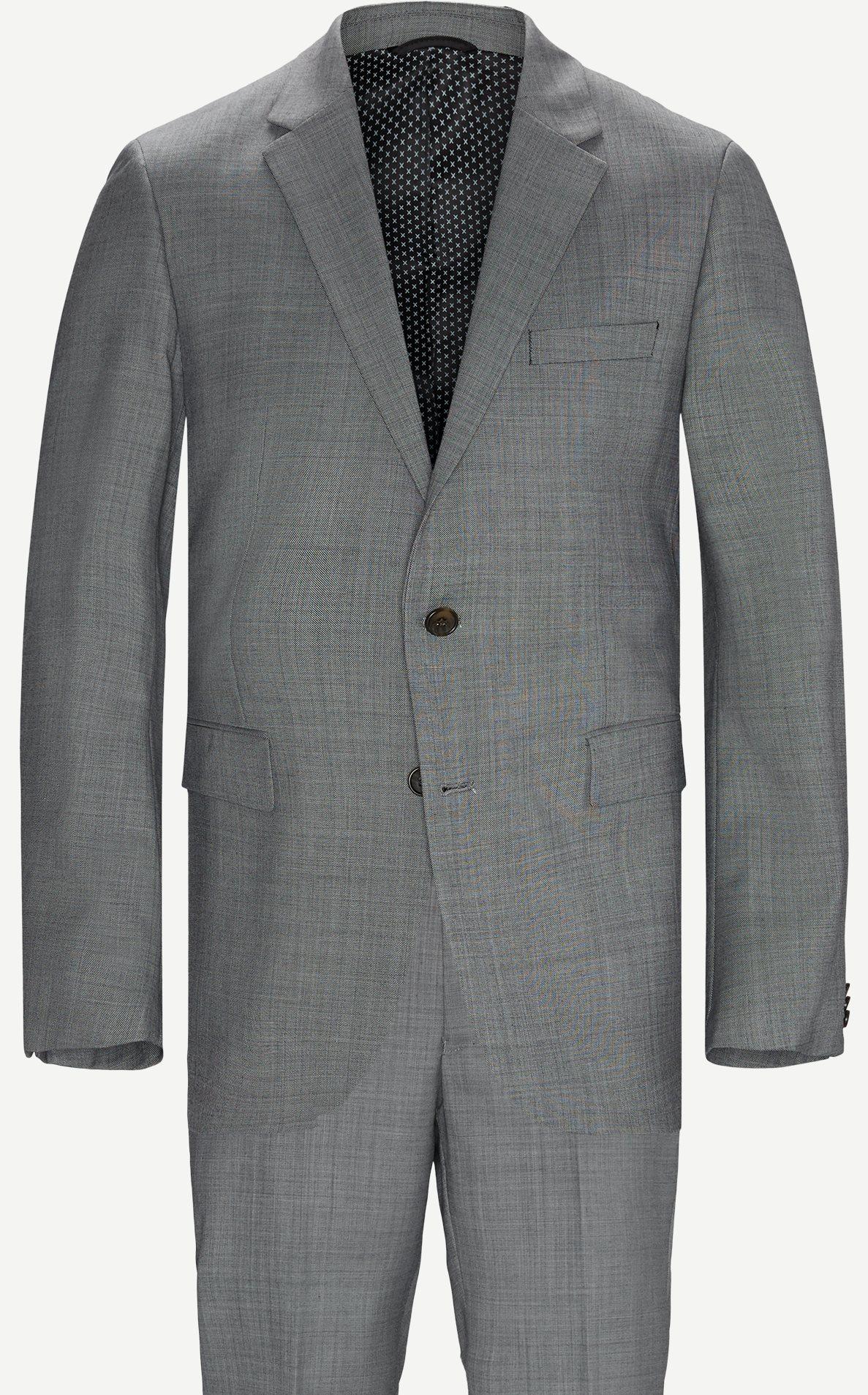 Anzüge - Regular - Grau
